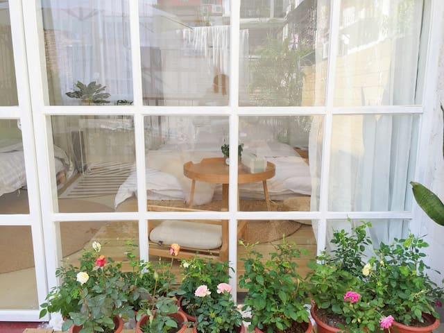 HERE厦门店|星晴 厦大正对面一个靠近海边loft房子 坐拥露台花园 北欧设计