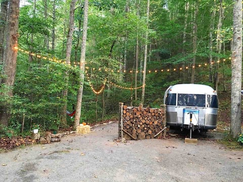 The Shiny Home: Airstream on the River