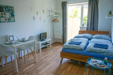 ⭐Studio with garden near city center & parking