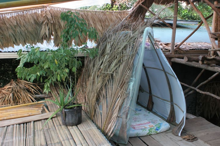 Micro hut in indigenous sustainable community