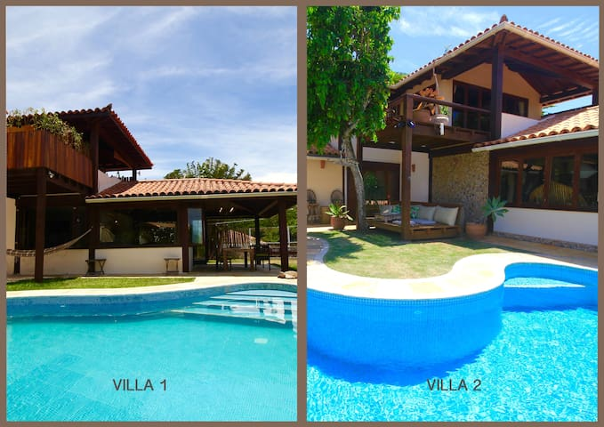 TWIN VILLAS in private condominium