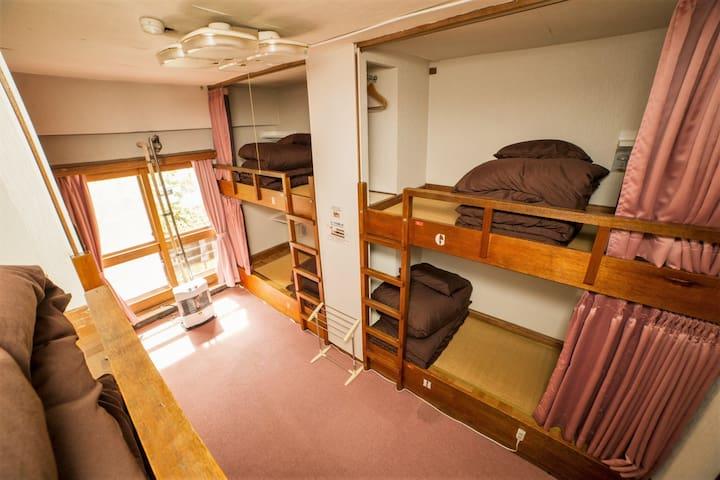 Bankbed room