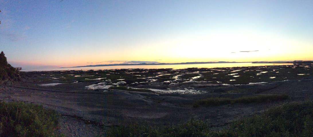 Un des plus beau coucher de soleil du monde!