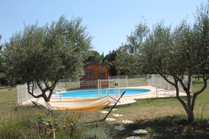 Villa en Provence(mini 2 semaines) - Saint-Paulet-de-Caisson - Hus