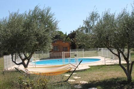 Villa en Provence(mini 2 semaines) - Saint-Paulet-de-Caisson - Rumah