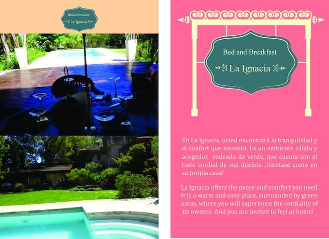 Bed and Breakfast en Pilar! - Villa Rosa - Bed & Breakfast