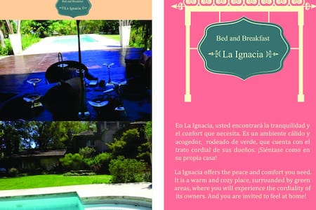 Bed and Breakfast en Pilar! - Villa Rosa