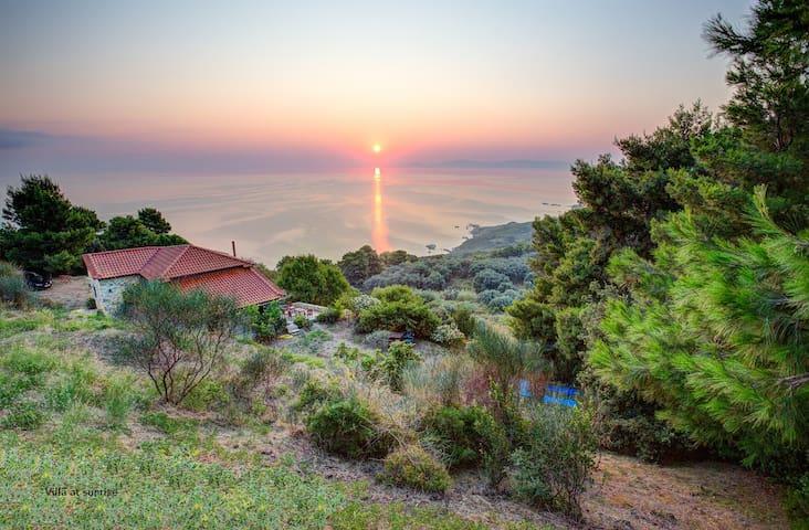Aegean retreat stone-built villa - Skopelos - Вилла
