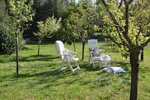 Giardino riservato agli ospiti