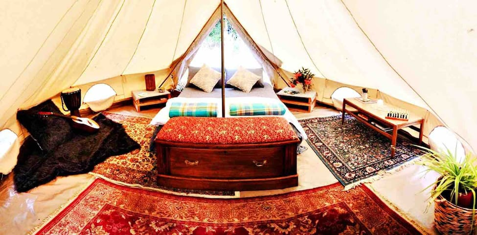 Red Hill Glamping wine, dine & relax under stars
