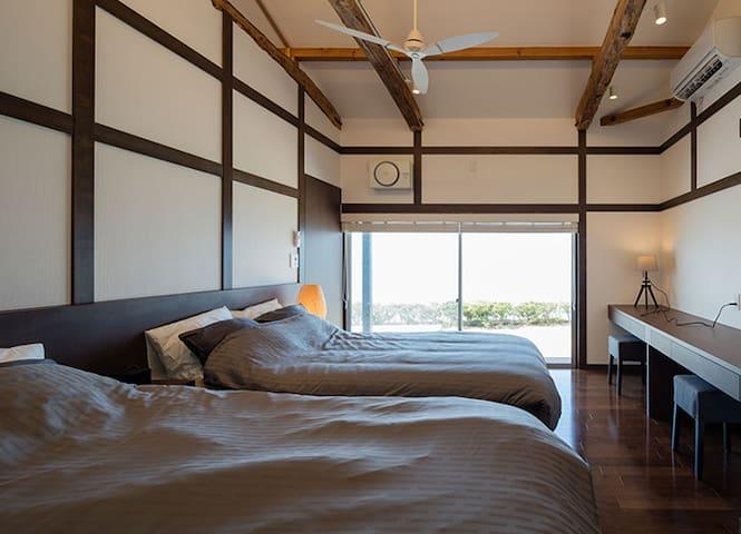 Bed room #2 (2 three-quarter beds)