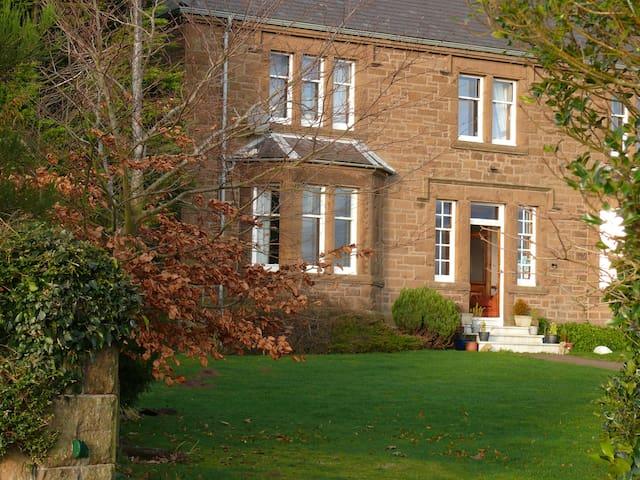 Hay Farm House, tranquil spacious Twin en-suite - Northumberland - Oda + Kahvaltı