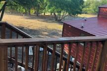Alpaca/farm observation deck.