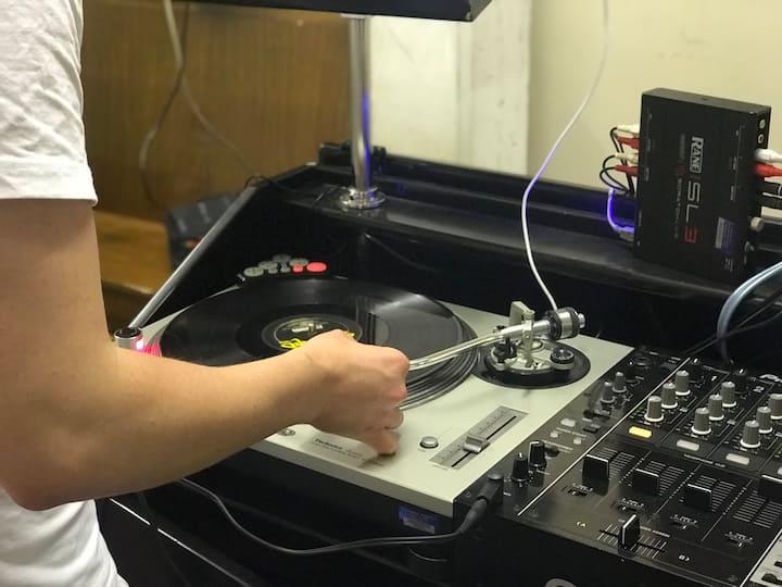 The vinyl equipment