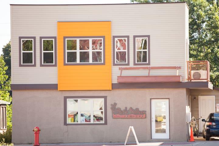 Apartment in heart of vibrant downtown Marquette - Marquette - Departamento