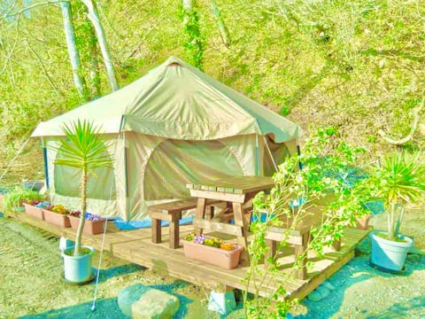 ◇ Lakefront Camping ◇ Lake Wind Glamping