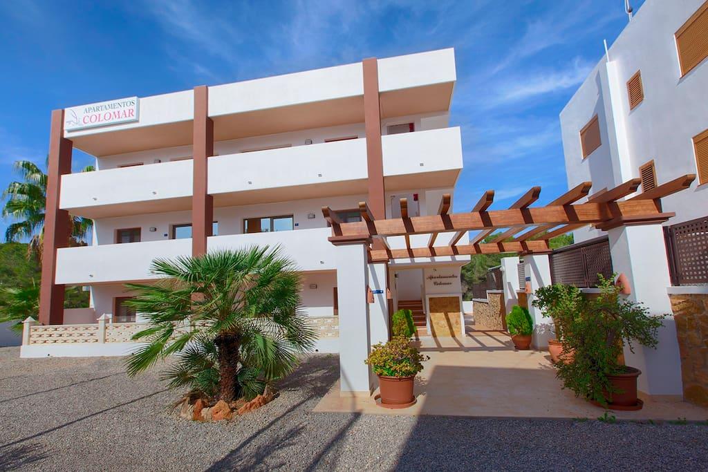 Aparthotel Ibiza Colomar Ingresso