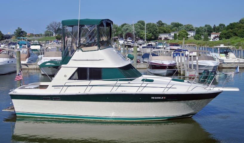 40FT SILVERTON YACHT CLOSE TO CAPE COD/PROVIDENCE
