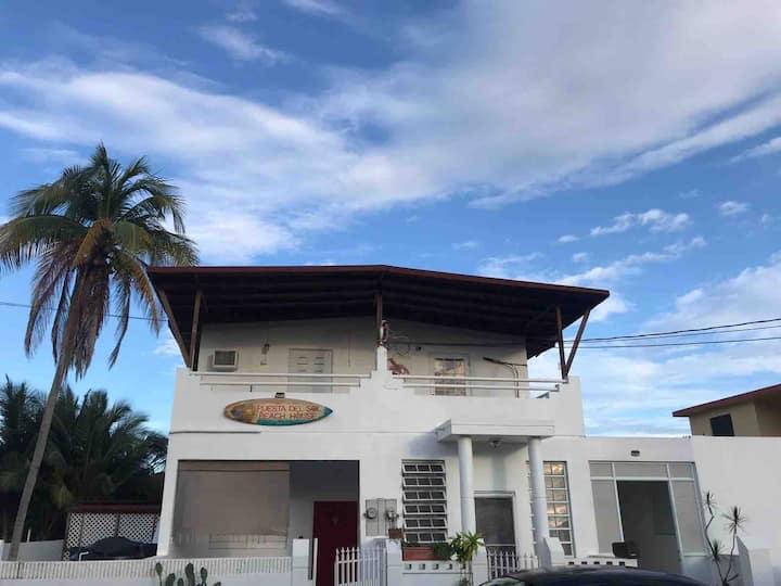 Puesta del Sol beach house.