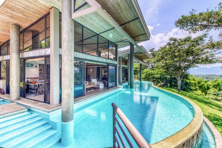 Wonderful home surrounded by nature w/ ocean views & a private pool