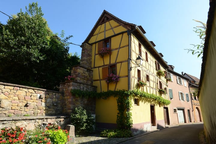 Maison de village avec jardin àTurckheim