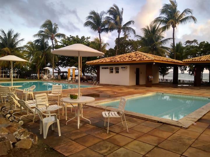 Flat em Resort, Condomínio fechado Olivença Ilhéus
