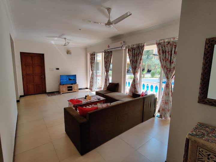 3BHK apartment stylishly furnished in Siolim