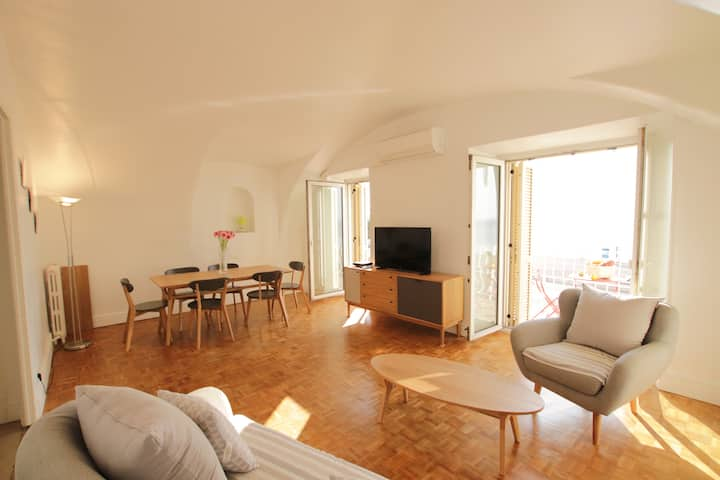 Les Ponchettes: appartement 3 chambres mer