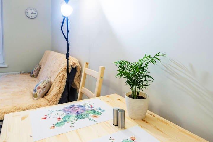 Уютная квартирка для гостей Казани