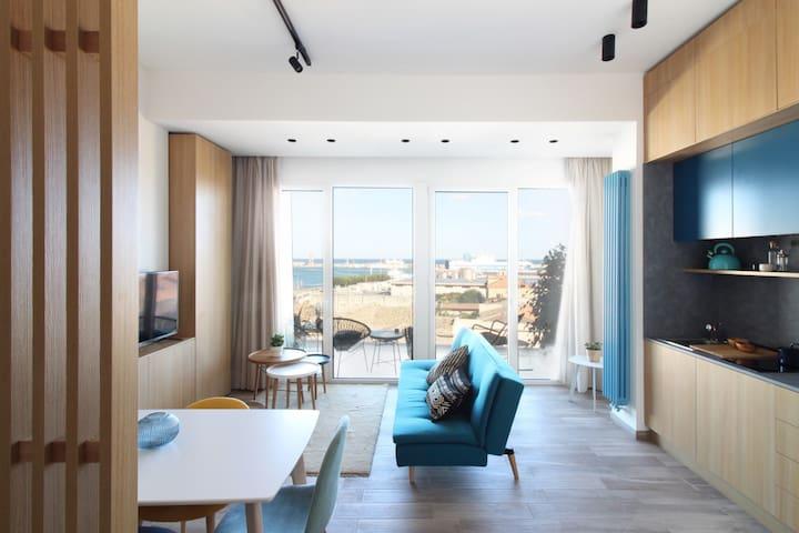 Seaview Apartment blu