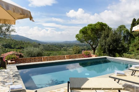 Private Villa, Private Pool,  Air Conditioning - Castiglion Fiorentino