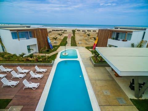 Tam donanımlı plaj dairesi ZorritosTumbes