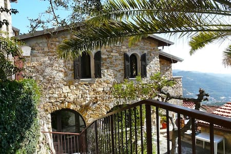 Villa rustico ben arredata vista mare e giardino - Diano Arentino - Ev