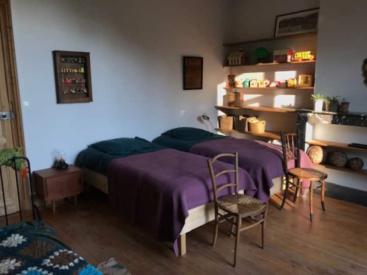 """Chambre """"Cocote"""" à l'Orée du Bois"""