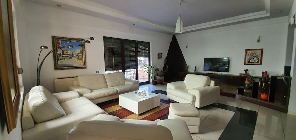 Private apartament, in a two floor villa