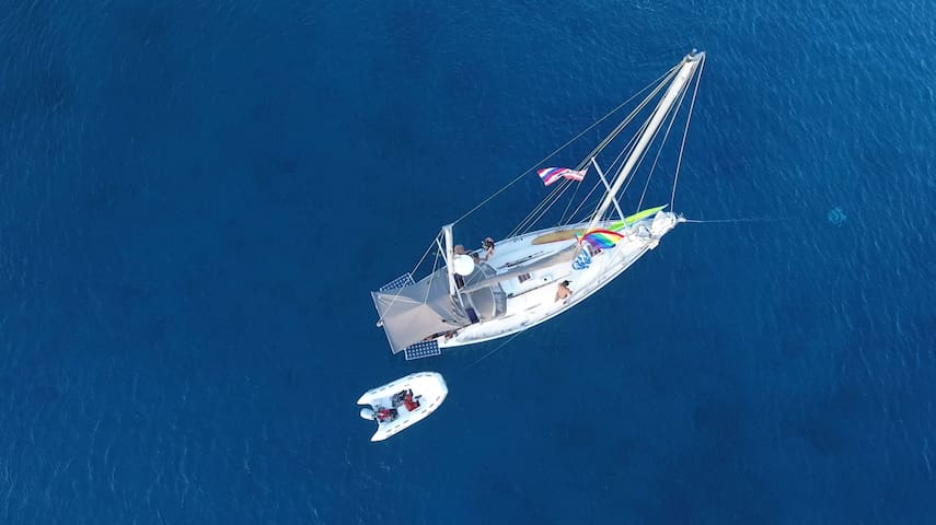 Floating on the beautiful Maui waters - Lahaina - Tekne