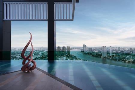 Luxury stay in central Bangkok - Yannawa - 公寓