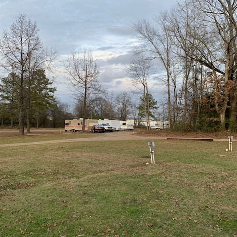Class B/C-RV Site 40' L X 20' W Partial Hook Up