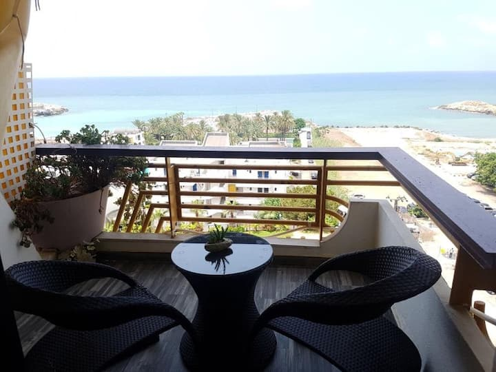 Chalet Solemar resort, 1BR, sea view and WiFi