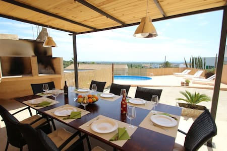 Cas Padrins - Hidromassage -Nice landscape - Wifi - S'Alqueria Blanca - Haus