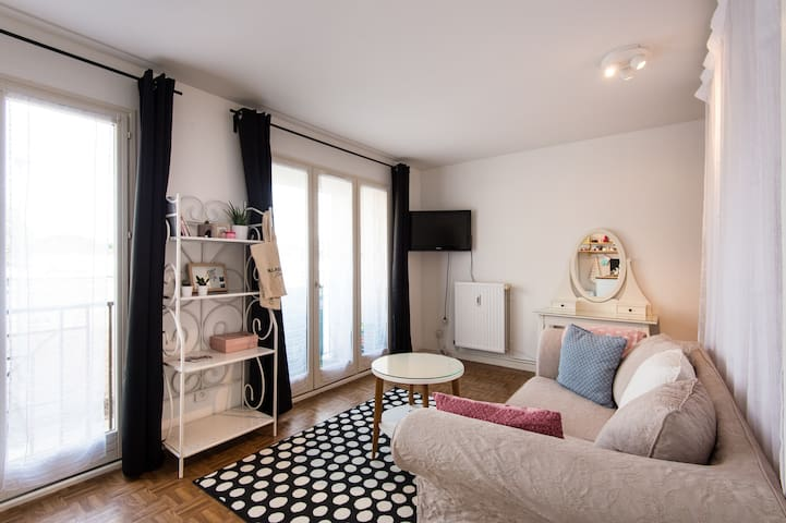 Cosy little flat at 5min from downtown - Lille - Apartament