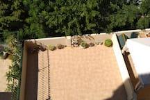 Vista desde arriba. Se ve mi terraza mucho mejor