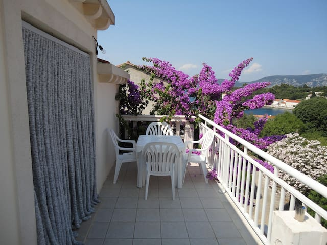 "Apartment ""Bugavila"" (Bougainvillea) - Račišće - Appartement"