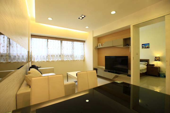 D Sweet ElevApt 3bdrm2ba1kc for5ppl!5min MRT.
