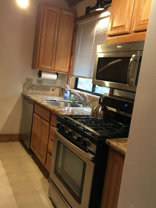 Kitchen (New Countertops and Updated Appliances)