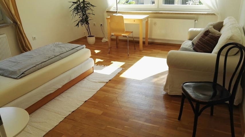 Helles Zimmer 10 Min walk to center&campus - Göttingen - อพาร์ทเมนท์