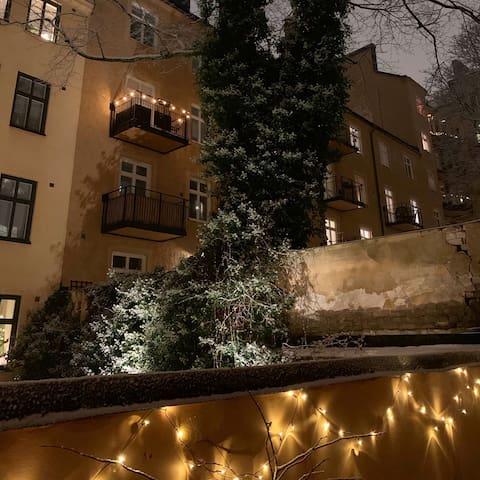 Tasteful Studio apartment in super attractive area