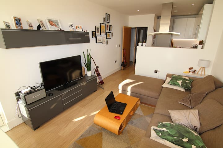 Modern 2 bedroom flat in Brixton