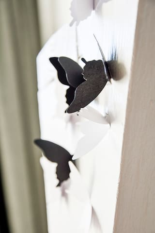 Papper butterflies in your room