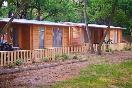 Holzblockhütte 3